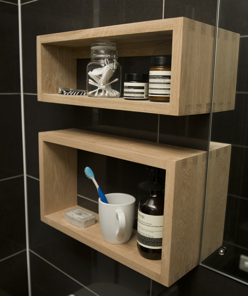 A Special Shelf For The Electric Toothbrush ...