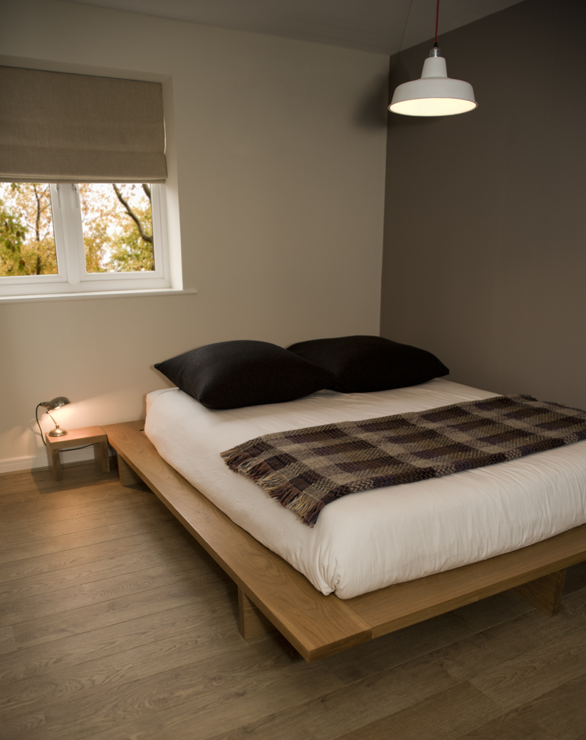 Futon Style Bed, Low ...
